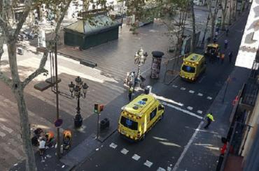 Россиянка получила легкие травмы при теракте в Барселоне