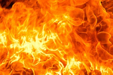 Прачечная горела вМосковском районе