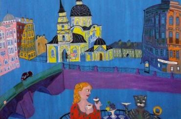Безумные сфинксы, кариатиды и атланты в волшебном городе