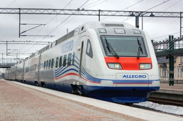 «Аллегро» опоздал вПетербург из-за плохой погоды