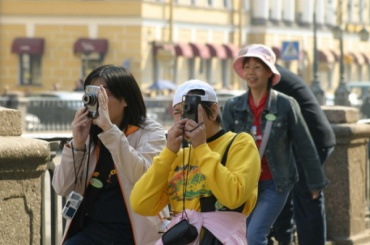 Петербург за полгода посетило 4 млн туристов