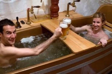 Пивной спа-салон работает в Исландии