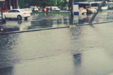 В Петербурге в среду ожидаются ливни и грозы