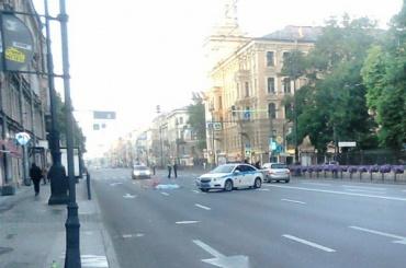 Пешехода сбили насмерть на Московском проспекте