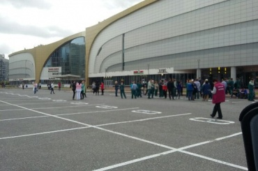 Покупателей и персонал «Жемчужной Плазы» эвакуировали