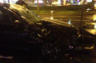 Очевидцы: пьяный водитель устроил «паровозик» наБогатырском