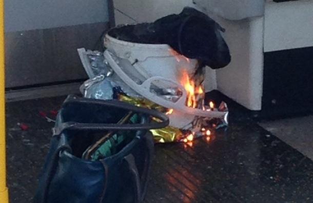При взрыве в метро Лондона пострадало 20 человек