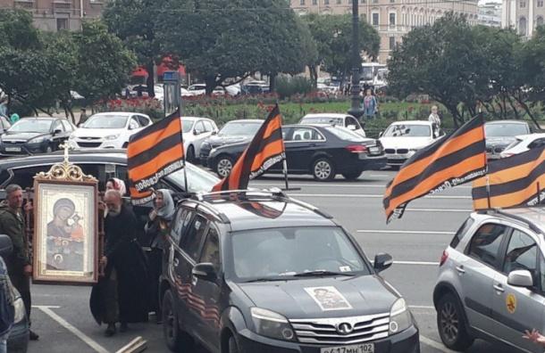 Активисты сообщили о провокации НОД у Исаакиевского собора