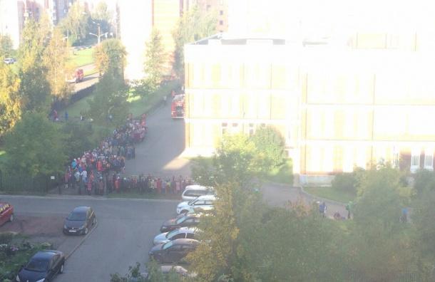 Задымление в петергофской школе ликвидировали, занятия возобновились