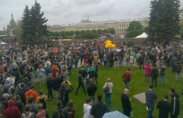 Смольный прокомментировал ситуацию с митингом Навального