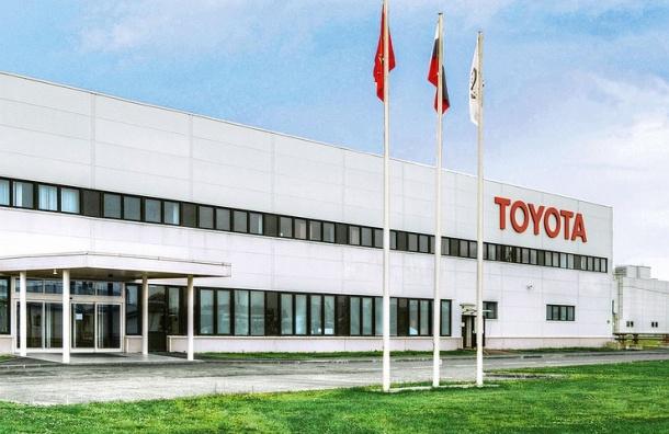 Завод Toyota в Петербурге увеличил экспорт