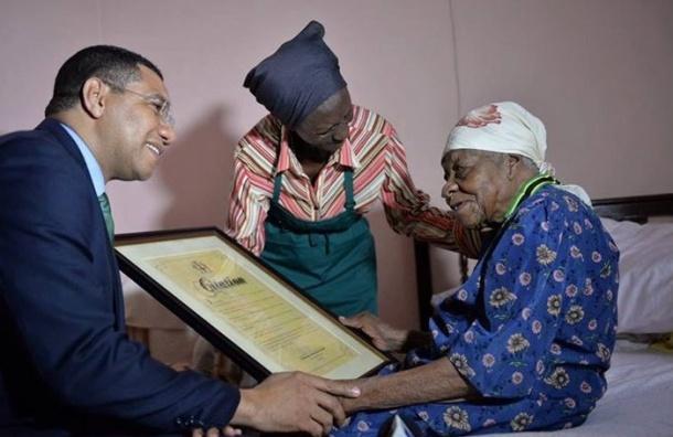 Старейшая женщина в мире умерла на Ямайке