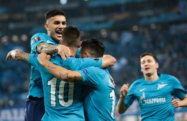«Зенит» одержал победу над клубом «Реал Сосьедад»