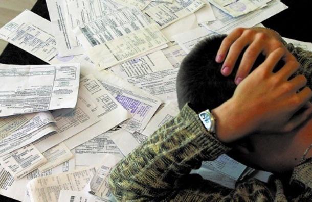 Петербуржцы задолжали коммунальным службам более 3 млрд рублей
