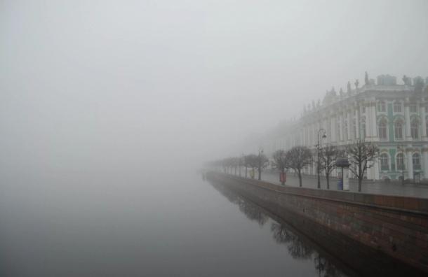 Утром во вторник на Петербург опустится туман