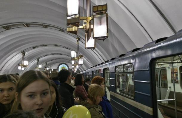 Очевидцы сообщают о пробке на оранжевой линии метро