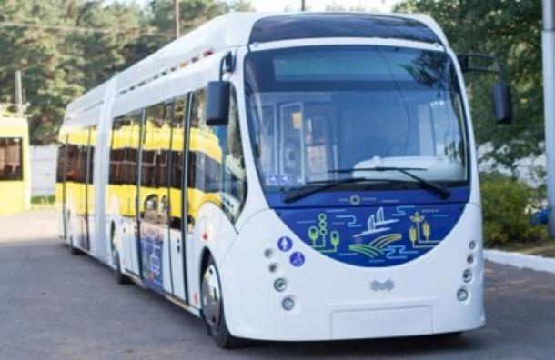 Белорусский электробус испытают в Петербурге