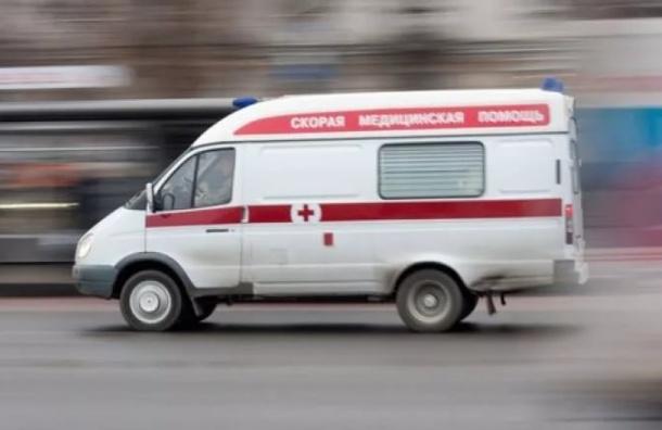 ВАвтово годовалая девочка доставлена вбольницу стравмой головы после падения сходунков