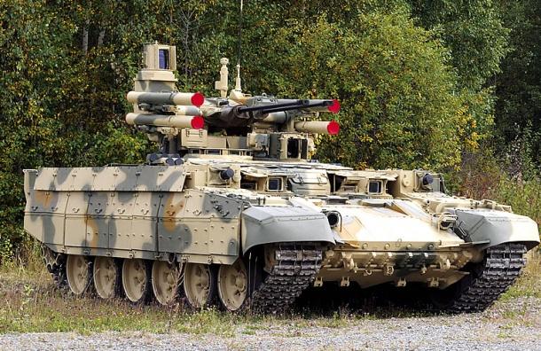 Первые «Терминаторы» появятся в российских войсках в 2018 году