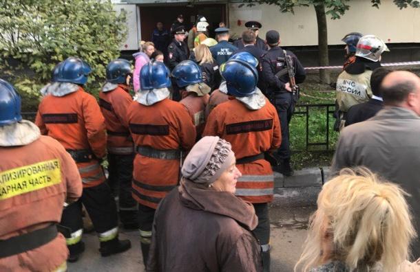 Очевидцы сообщили о взрыве газа в доме на Демьяна Бедного