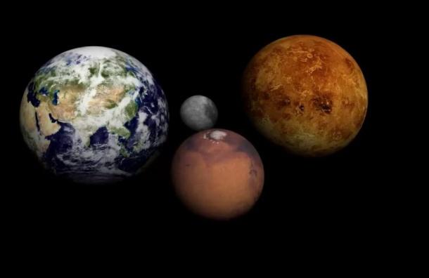 Петербуржцы увидят сближение Марса, Венеры иМеркурия