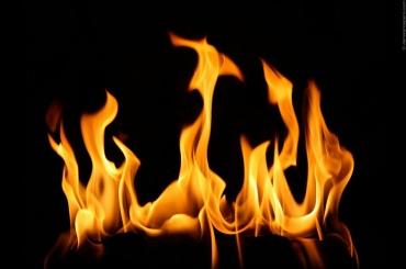 Двухкомнатная квартира горела на Савушкина