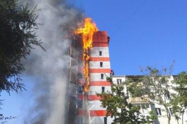 Тело второго погибшего нашли в горящей гостинице в Ростове