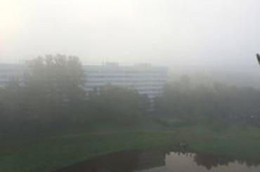 Первый день октября начнется с тумана в Петербурге