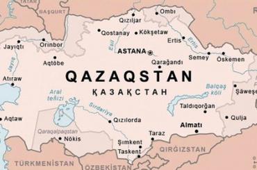Казахстанское СМИ опубликовало карту с присоединенными частями России