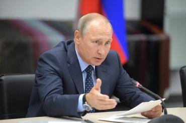 Путин появился надетской площадке вАрмении