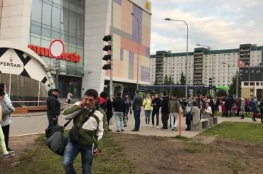 ТЦ «Монпансье» эвакуируют из-за опасной коробки