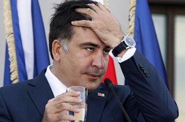 Саакашвили представил план блокады Верховной Рады