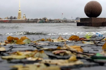 Петербург ждут последние выходные без дождей