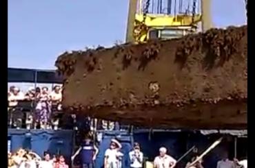Капсулу времени 50-летней давности подняли со дна Черного моря