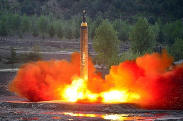 Американские военные заявили о скором появлении у КНДР ракеты с ядерной боеголовкой