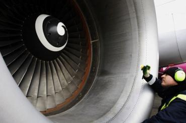 Попавшая в двигатель птица не дала самолету взлететь из Пулково