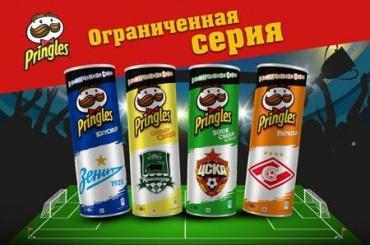 Чипсы Pringles – футбольная серия
