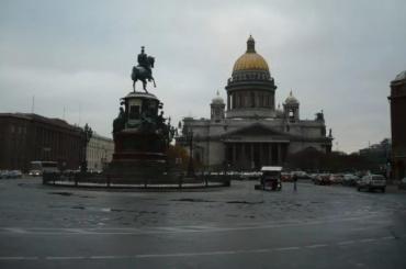 Петербург «придавило» высоким атмосферным давлением