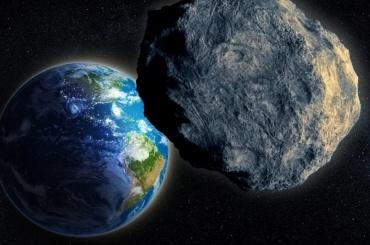 Ночью мимо Земли пролетел гигантский астероид