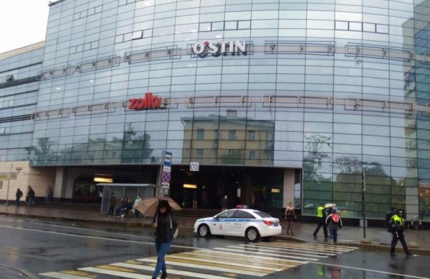 Эвакуированы торговые центры Петербурга
