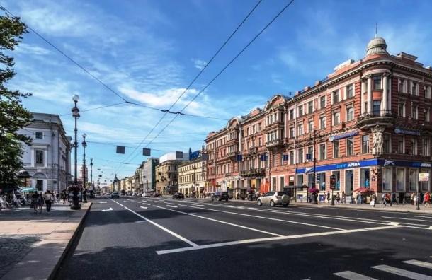 Невский проспект перекроют из-за ремонта