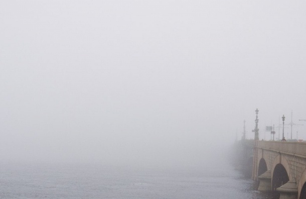 Туманы и дожди в пятницу ожидаются в Петербурге