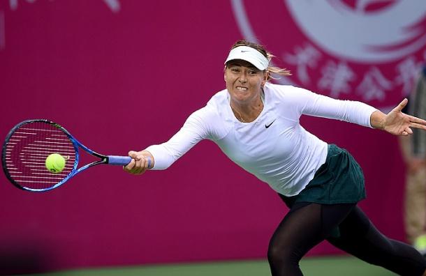 Шарапова обыграла Пэн ивышла вфинал турнира вТяньцзине