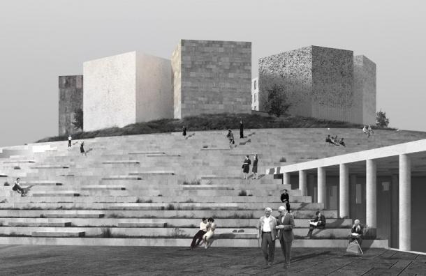 Новый музей блокады Ленинграда построят попроекту мастерской Никиты Явейна