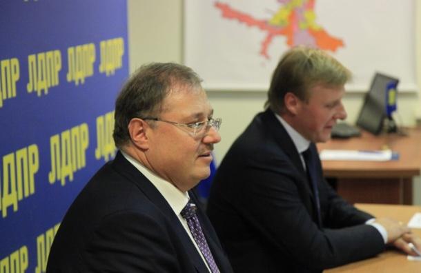 Миллиардер встал во главе петербургской ЛДПР