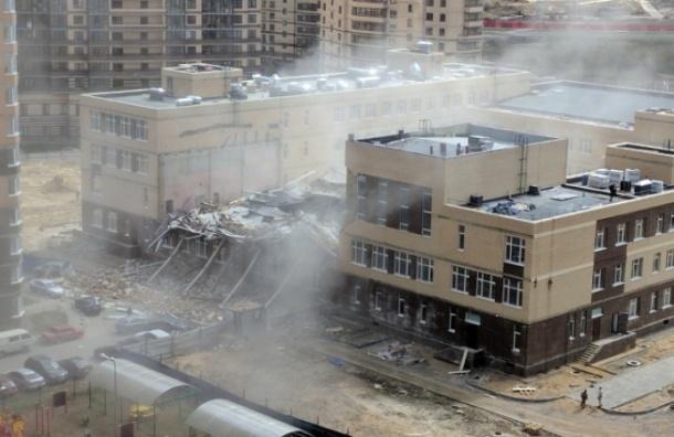Суд рассмотрит дело об обрушении школы в Мурино
