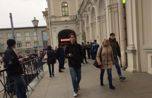 Балтийский вокзал закрыли из-за подозрительного предмета