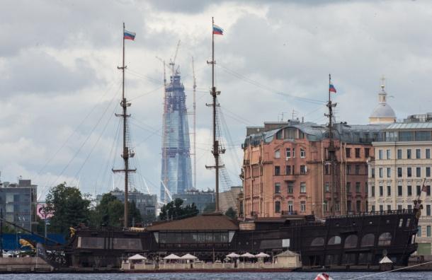 «Лахта центр» вПетербурге опередил самое высокое строение Европы
