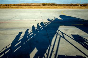Хаос царит в Пулково из-за отсутствия трапов