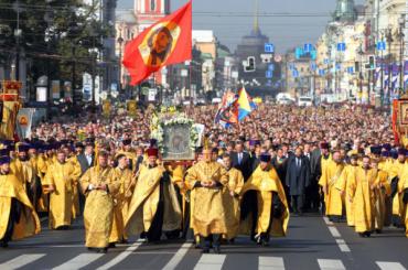 «Яблоко» предлагает приравнять крестные ходы к митингам